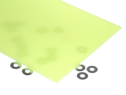 Neon Yellow Acrylic Sheet