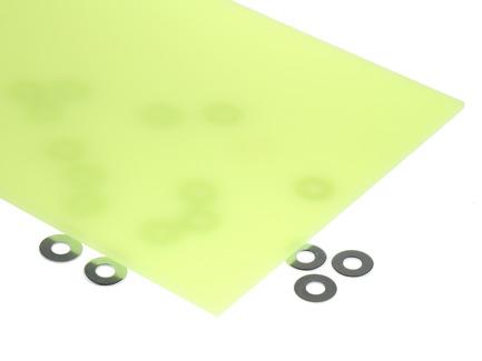 Neon Yellow Acrylic Sheet