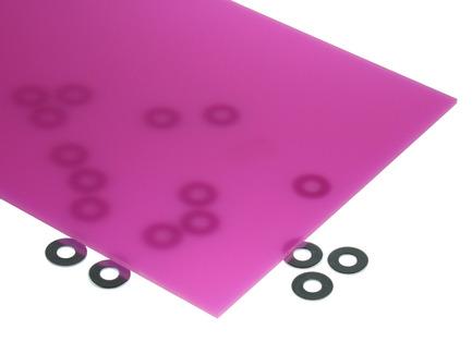 Neon Magenta Acrylic Sheet