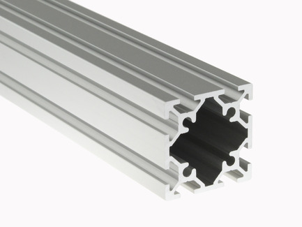 Aluminum Extrusion (40mm x 40mm) - Clear