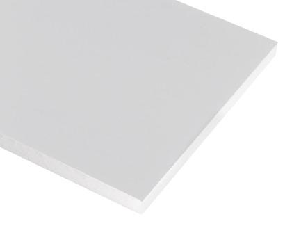 White Foam Core
