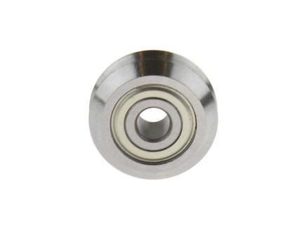 Steel Dual V-Wheel, 5mm Bore