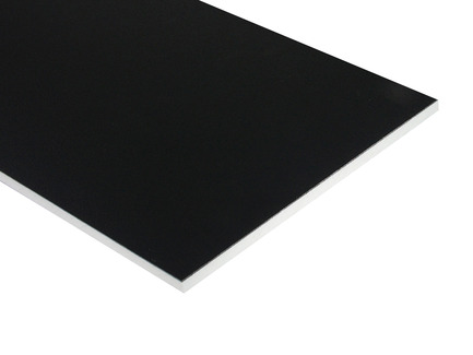 Two-Color HDPE - Black on White