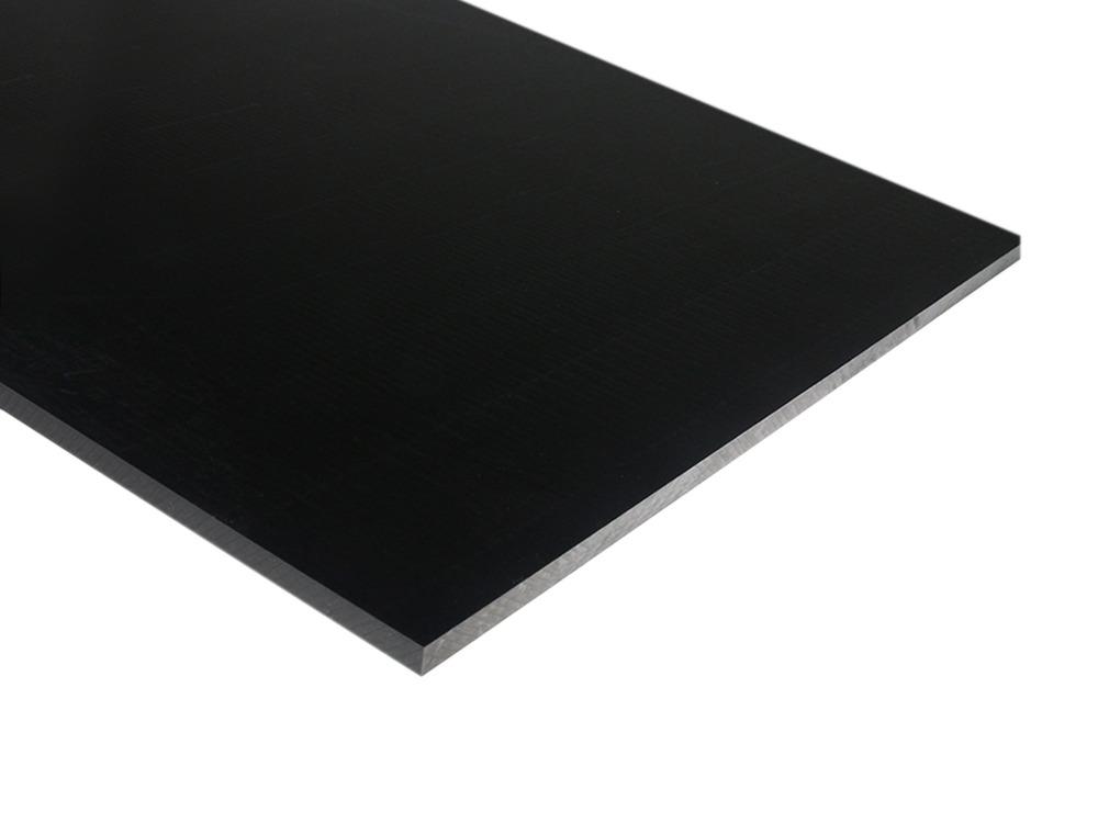 Black Delrin 174 Sheet