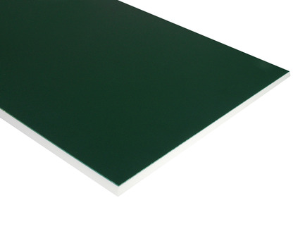Two-Color HDPE - Green on White