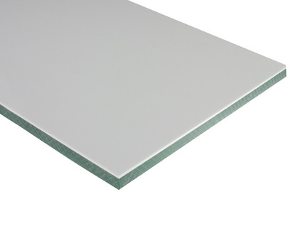 Two-Color HDPE - White on Green