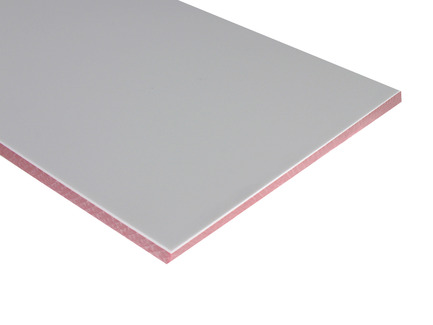 Two-Color HDPE - White on Red
