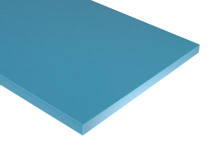 Blue HDPE Sheet