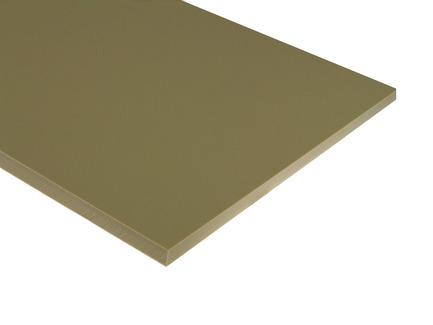Tan HDPE Sheet