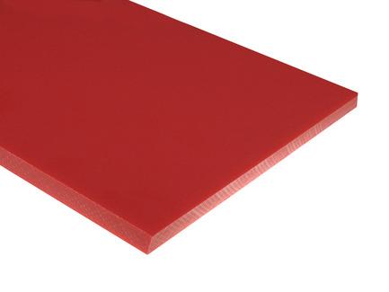 Red HDPE Sheet