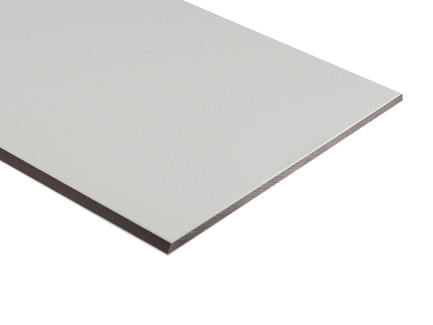 Two-Color HDPE - White on Brown