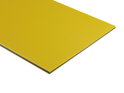 Two-Color HDPE - Yellow on Black