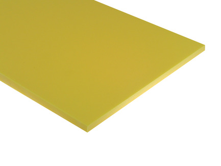 Yellow HDPE Sheet