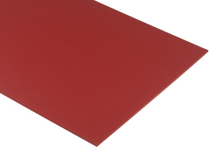 Red Expanded PVC Sheet