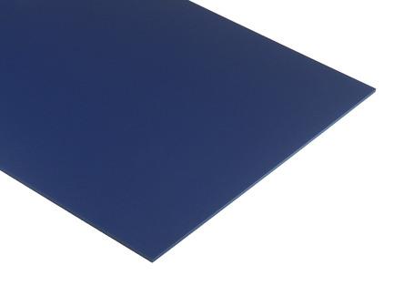 Blue Expanded PVC Sheet