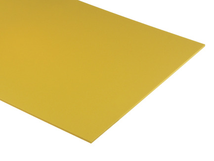 Yellow Expanded PVC Sheet