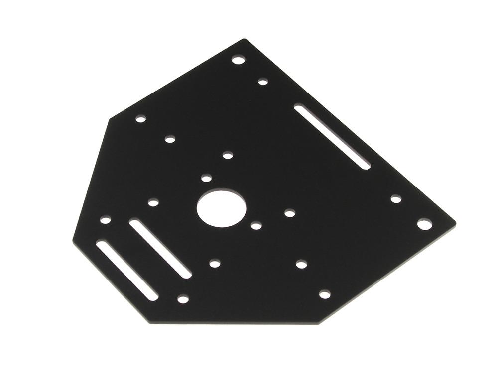 Motor mounting plate for Nema 23 motor mount plate