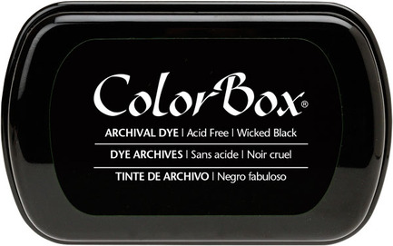Black Dye Ink Pad