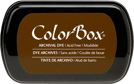 Brown Dye Ink Pad