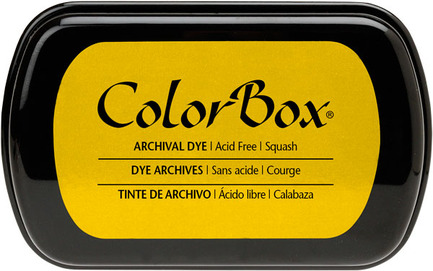 Yellow Dye Ink Pad