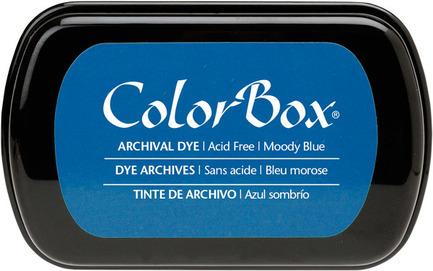 Blue Dye Ink Pad