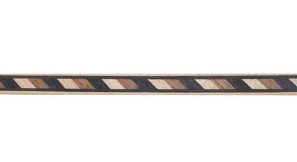 Walnut and Maple Striped Wood Inlay