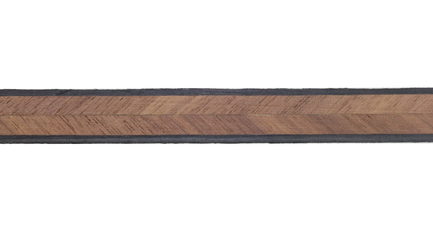 Walnut Herringbone Wood Inlay