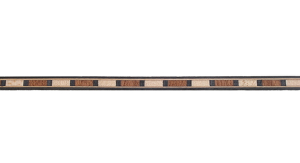 Mahogany and Maple Striped Wood Inlay