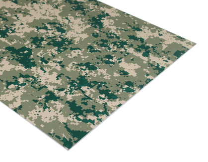 Camouflage Laserable Acrylic Sheet
