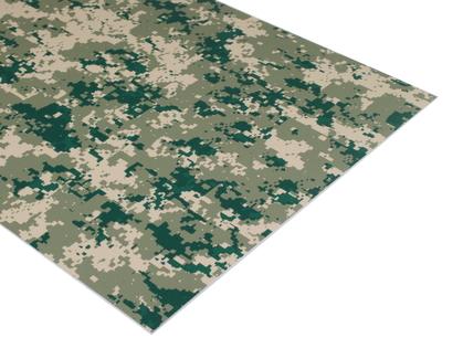 Camouflage Laserable Acrylic Sheet