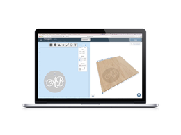 Easel laptop 4x3