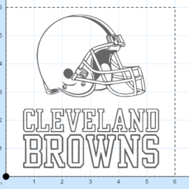Easel_cleveland_browns