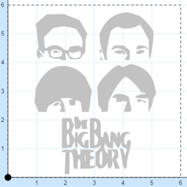 Big bang theory tile