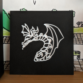 Dragon tile