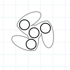 image relating to Printable Fidget Spinner Template referred to as Inventables: Fidget Spinners