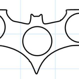 Batknife fidget spinner