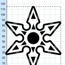 Shuriken fidget spinner 2