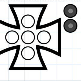 Iron cross spinner